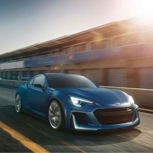 Subaru STI Performance Concept BRZ @Subaru_USA