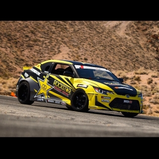 The 2015 @rockstarenergy @hankookusaracing @scionracing tC. Built and operated by for the full @formulad Championship! Click the link in my profile to watch the launch video!