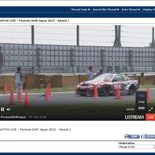 WATCH LIVE - Formula Drift Japan 2015 - Round 1on @DRIFTINGCOM