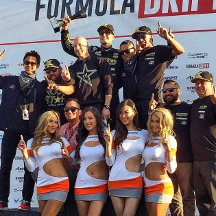 WE WON FORMULA DRIFT LONG BEACH!!!!! Crazy night - the tC is absolutely worn out and this wasn't exactly how I wanted these baytles to go down, but we'll take it!! ROLL ON, 2015 season. Thanks for all of the support out there!!! (Photo: Carninja)
