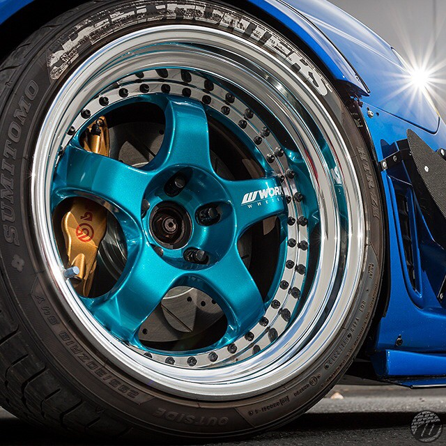 WORK Meister S1 3pce (original color) #artofwheel