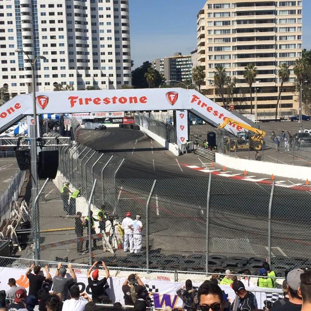 We're here at Formula D Long Beach support Daigo Saito and his R35 today at qualifying. #HKS #hksusa #daigosaito #formulad #hipermax #fdlb