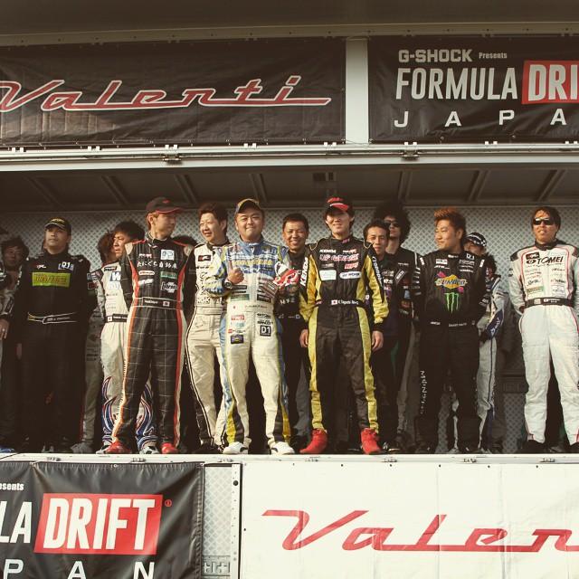 2015 Formula drift japan in Tsukuba Circuit. #motorgames #formuladriftjapan #formulad #tsukubacircuit #drift #motorsport #car #event #japan #drivers
