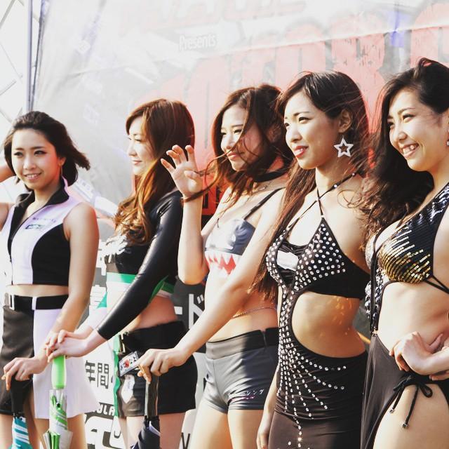 2015 Formula drift japan in Tsukuba Circuit. #motorgames #formuladriftjapan #formulad #tsukubacircuit #drift #motorsport #car #event #japan #paddockgirl