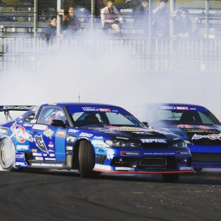 2015 Formula drift japan in Tsukuba Circuit.