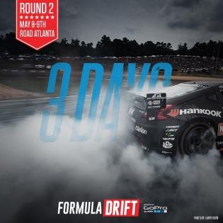 3 more days Round 2 - Road Atlanta |