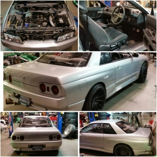 89 R32 GTS-T Skyline. $15,900 Very good condition, refinished exterior, oem sideskirts and rear valances, 5 speed oem rb20det, GReddy downpipe, 3inch test pipe, apex Gt spec exhaust, lowered on jdm coilovers brand unknown, isis tension rods, z32 front brake upgrade, STR 524 17x9 with new tires, just maintenanced water pump, timing belt, all accessory belts thermostats and radiator hoses, radiator cap, spark plugs and oil change. This car is registered and ready to be a daily driver. Cold A/C Contact sales@getnutslab.com ONLY FOR SERIOUS INQUIRIES.