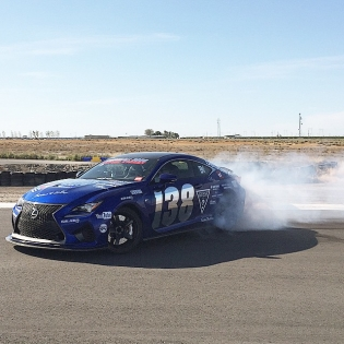 @duspeed let me take his @lexustuned RCF out on a track. It was just like FD smoking the @falkentire on the track. |