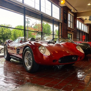 Another photo of the 1959 Ferrari 250TR that @redlineresto let me take for a spin. Easily the most bad ass race car I have ever driven.