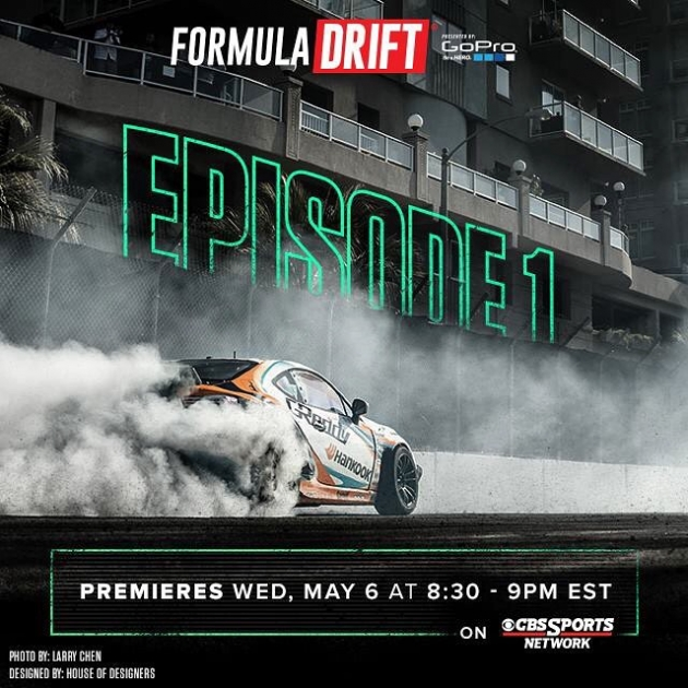 As approaches, you can catch up with with @formulad episode 1 on #cbssports... @greddyracing X @hankookusaracing X @scionracing FR-S