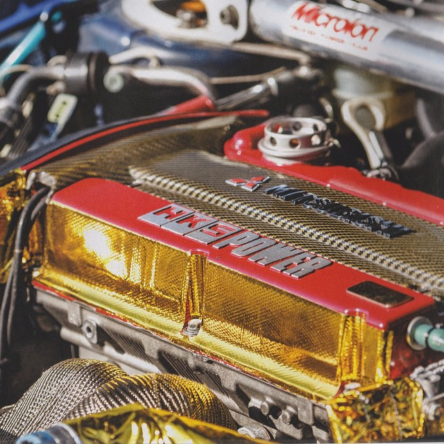 Check out the HKS hardware on the cars in this month's issue of Dsport. Photo: @dsport #HKS #hkspower #hksusa #hipermax #madeinjapan #evo #4G63
