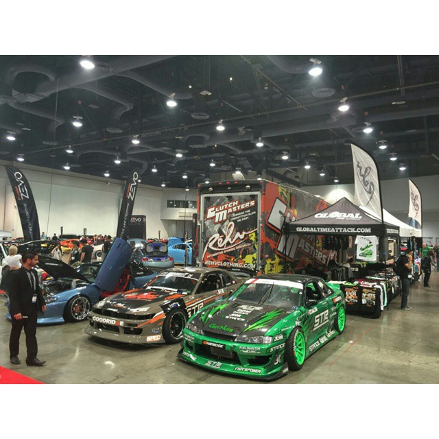 Come check out the @rehv_clothing booth at Hot Import Nights at the Las Vegas convention center! #rehvclothing #getnuts #getnutslab #forrestwang #s14 #2jz