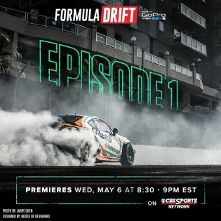 Don't forget to watch Formula DRIFT Episode 1 - Long Beach tonight at 8:30 PM EST on @cbssports |
