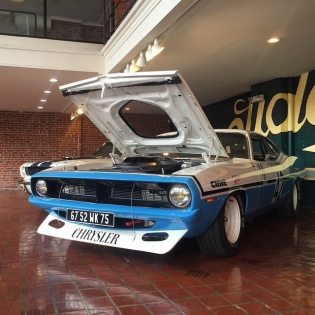 Henri Chemin's championship winning 1970 Chrysler Plymouth Barracuda with a 426 Hemi. Yes please. @redlineresto