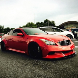 LB★WORKS G37 NISSAN SKYLINE @forgiato