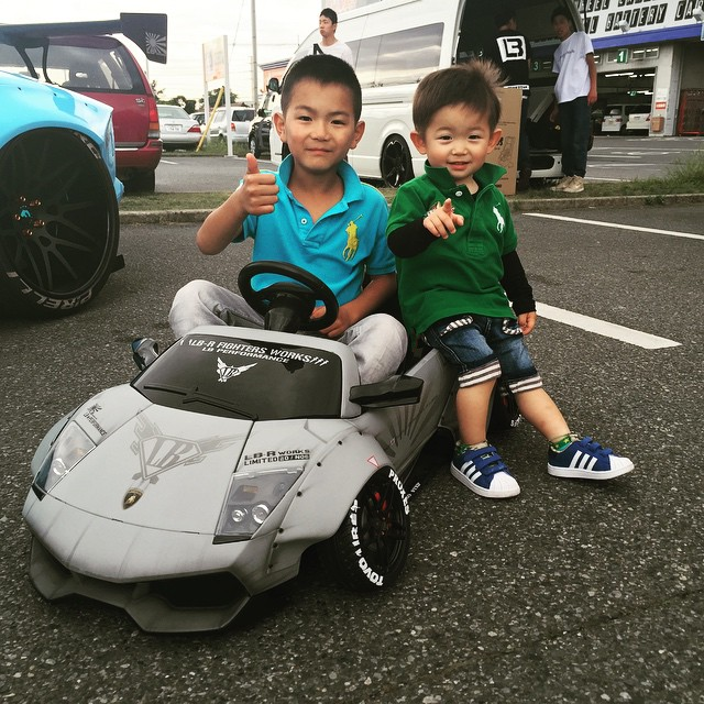 Lb Works Kids Car Japan Kato Custom Lbperfomance Lbperfomance