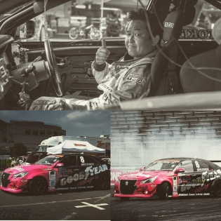 Legend in the drift game. Tokita-San giving the approval. Good guy.
