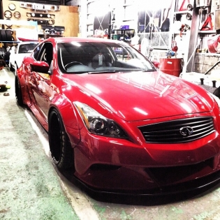NEW LB★STANCE WORKS G37 @forgiato