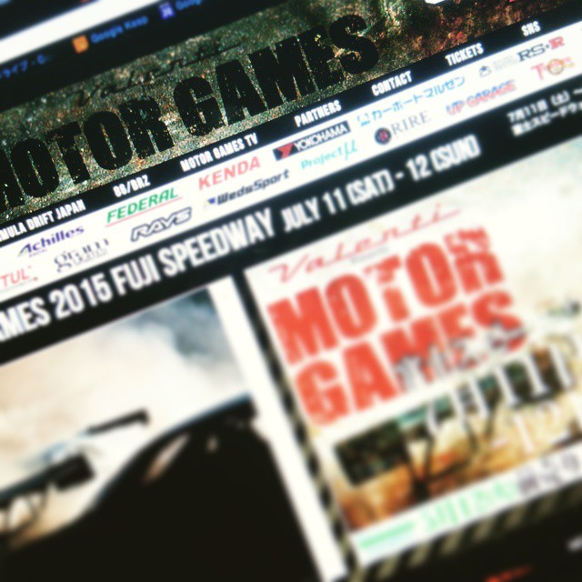New MOTOR GAMES website!! Coming soon! #motorgames_tv #motorgames #event #drift #formulad #formuladriftjapan #formuladrift #design
