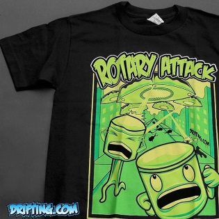 Rotary Attacks are fully restocked in all sizes