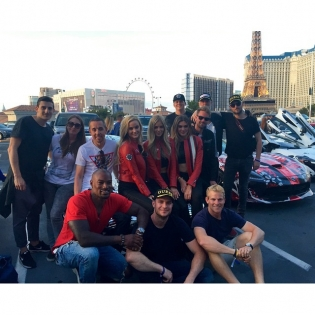 So grateful to have participated in this years @gumball3000 Thanks again to @guess @paulmarciano and awesome people that made all of this possible! @saint_nicc @mariaferrari79 @patdevereuxla @tristaneaton @danielleknudson1 @nataliepack @moannn @tysoncbeckford @vinsbaratta @mrgumball3000