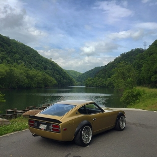That time I took my Datsun 280Z to Deals Gap to drive on the Tail of the Dragon for @zdayz_official. 318 turns in 11 miles, one of the best roads in the country. Can't wait to go back.