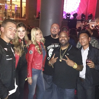 Tonights @gumball3000 European closing event with the @guess team. Met some cool new people. @trillig @tristaneaton @danielleknudson1 @nataliepack |