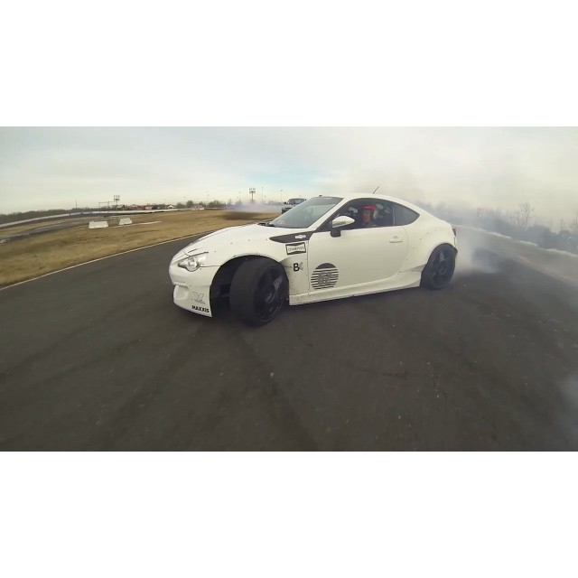 @chrisforsberg64 and I finally get to slay some tires in the new episode of #DriftGarage on @networka. Hit the link in my profile for the full episode. @valvoline @enjukuracing