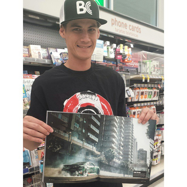 Forrest found a pic of the s15 in DSport magazine! Thanks @larry_chen_foto @thespeedhunters for doing the shoot. Came out amazing! #getnuts #getnutslab #forrestwang #s15 #2jz #briancrower