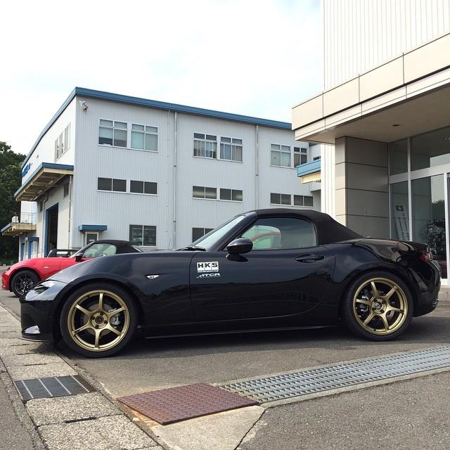 Miata Monday #HKS #HKSUSA #HIPERMAX #Miata #roadster #ND #Advan #madeinJapan