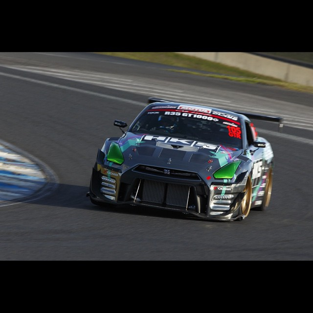 NOB putting the HKS timeattack R35 through the paces at the 2014 WTA in Sydney, Australia. #NOB #HKS #HKSUSA #HIPERMAX #timeattack #madeinJapan #GT1000 #R35 #vr38 #SKYLINE #GTR #worldtimeattack #sydney #Australia