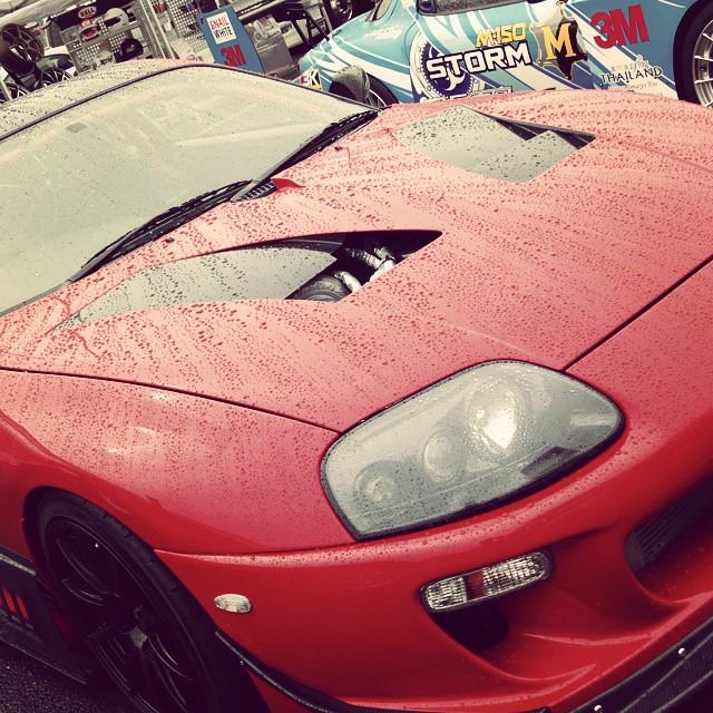 Orido's Supra. #maxorido #toyota #supra #car #red #customcar