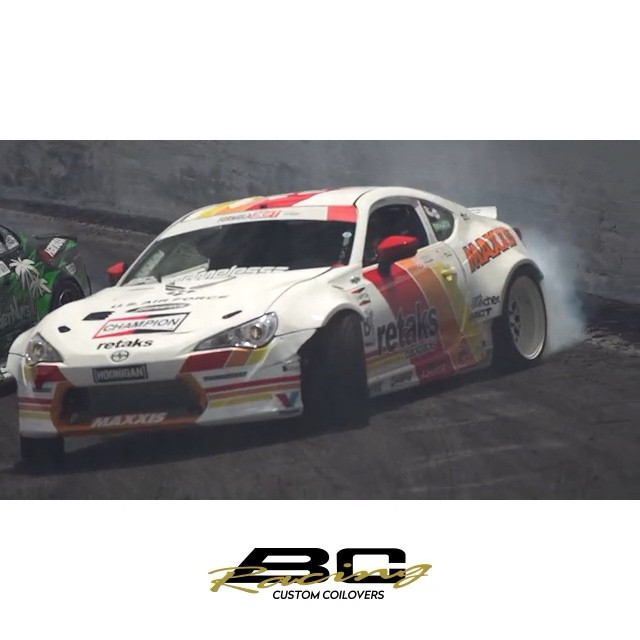The new @bcracingna @formulad Orlando edit is live. Hit the link in my profile to check out the whole BC team slaying tires. #go4gold #BCracing #customcoilovers #RT411