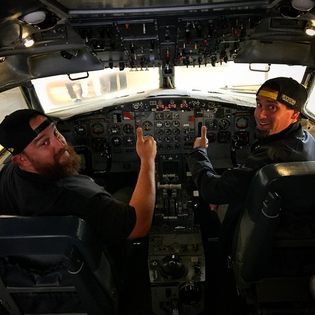 And we are wheels up from the cockpit! #GodSaveUsAll #WhatDoesThisButtonDo #ItsBeenNiceKnowingYou