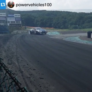 Here's a little preview of the 35RX SpecD GT-R in action for this weekend's Rd4 Ebisu Drift Thanks to this from @powervehicles100