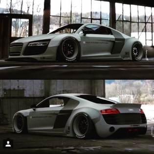 LIBERTY WALK LB★WORKS AUDI R8 R @forgiato