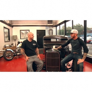 On this weeks I head up to Troy, NY to visit with my friend Jeremy Baye, owner of @1945speedandcustom. These guys are building classic hot rods with all the right parts. Click the link in my profile to see the video. @networka @valvoline