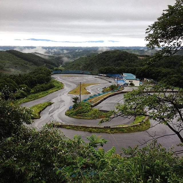 Parting shot overlooking Minami course at #ebisucircuit. Until next time Japan, stay awesome! Many thanks to Andy and Emily from @powervehicles100, @kansai_giant and @mark_williams89! #drifting #driftheaven #illbeback