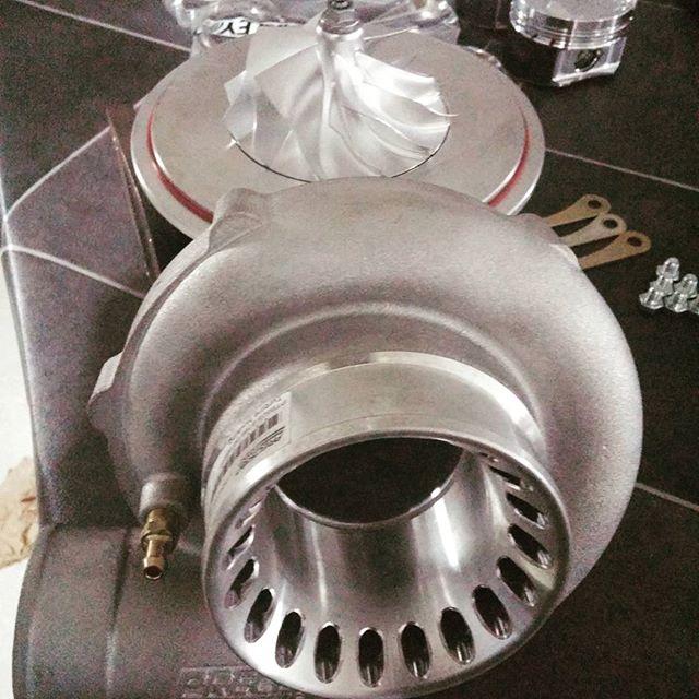 Pte6266 is getting ready for our t51r compressor machining. #2jzgte #evolution #2jz #2jzge #supranation #supra #supratt #jza80 #jza70 #turbo #boost #turbocharger #formulad2015 #formulad #forrestwang808 #sr20det #rb26dett #toyota #toyoyasupra #carswithoutlimits #borgwarner #boostporn #t51r #hkst51r #ocdworks2jzsolution #4g63 #supraforums #drifting #drift