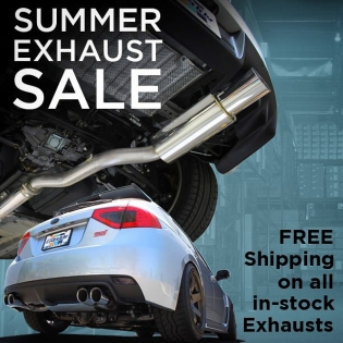 #SHOPGREDDY.com SUMMER EXHAUST SALE - Free ground shipping (lower48) on all in-stock Exhaust Systems. Including #SupremeSP, #RevolutionRS, and GReddy Racing Titanium -
