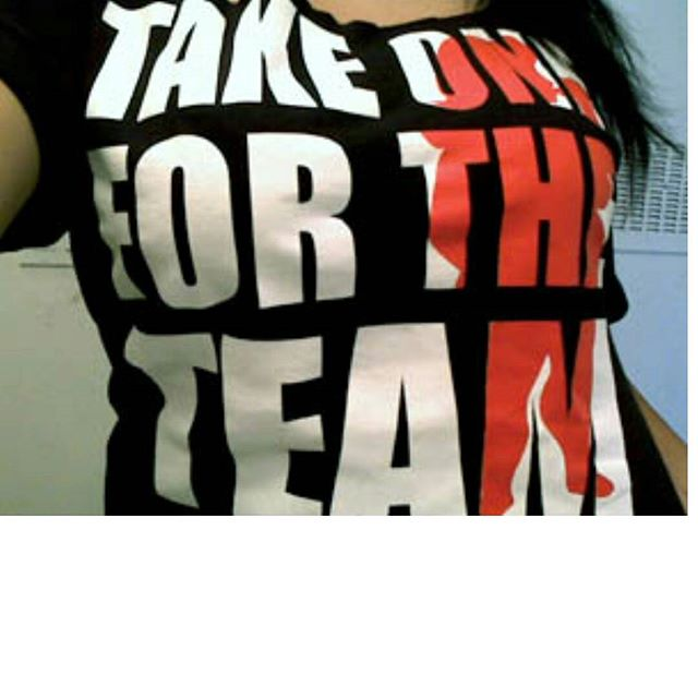 TAG YOUR FRIENDS - A few TAKE ONE FOR THE TEAM Shirts will be reprinted