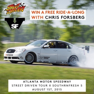 Who's going to Street Driven??? Who wants a free ride??? We are giving away a free ride in my Infiniti M56 this Saturday at Street Driven Atlanta! All you have to do is follow me and @streetdriven, then tag two friends on this photo on each account to spread the word! We will choose one commenter below midnight Friday night to get a free ride on Saturday. We are also giving away one more spot on my facebook so you can double your chances and try to win on facebook! Winner will be contacted via direct message. If you already purchased a ride, you will win a second ride along! (Must be 18+ with ID to win)