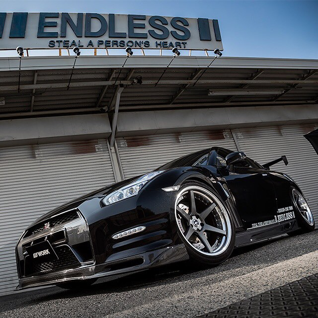 Endless Nissan GT-R on WORK Zeast ST1 #artofwheel