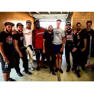 Great picture of the @streetdriventour ATL squad. We all worked our asses off at the event and had a blast getting people stoked on drifting. Thanks again for bringing me to be apart of the radness.