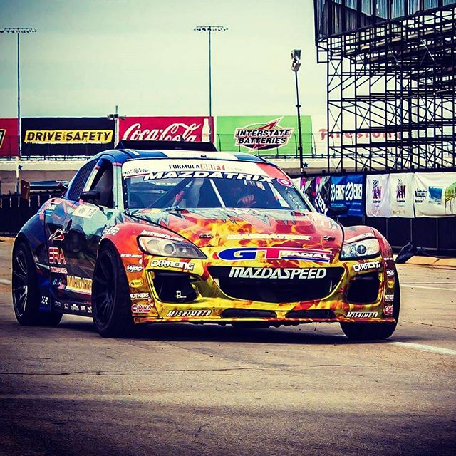 #KMR #rx8 for #mazdamonday #fdtx #formuladrift #rotaryaddiction