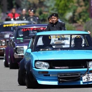 LIBERTY WALK KEN&MERY KATO MY CAR JAPANESE OLD CAR