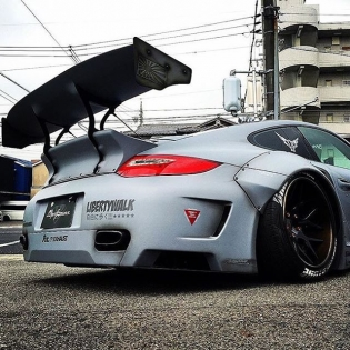 "LIBERTY WALK LB★WORKS PORSHE 997 TURBO JAPAN KATO""! CUSTOM @forgiato"
