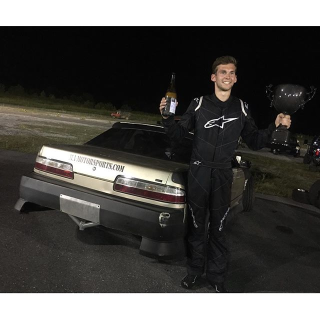 My man @dylanhughes129 just got 2nd Place in his first ever drift competition at @usdrift ProAm!!! He was killing it all day and almost had the overall win with a killer pair of runs. Congratulations again man! You deserve it! #timetocelebrate