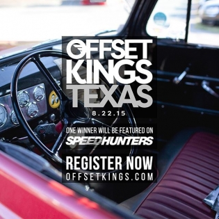 Offset Kings Texas is approaching fast! One winner from the showcase will also be featured on speedhunters.com! Register now at OFFSETKINGS.COM!