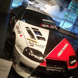Our old @needforspeed Toyota Supra on display at the Norwegian Road Museum (Norsk Vegmuseum)! So cool to see this trusty chariot be acknowledged as a part of Norwegian motorsports history. (Photo: Kaare N. Andersen)